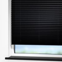 Zwarte raamdecoratie